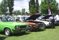 A line up of FE & VX Victors at the VBOA National Rally 2008